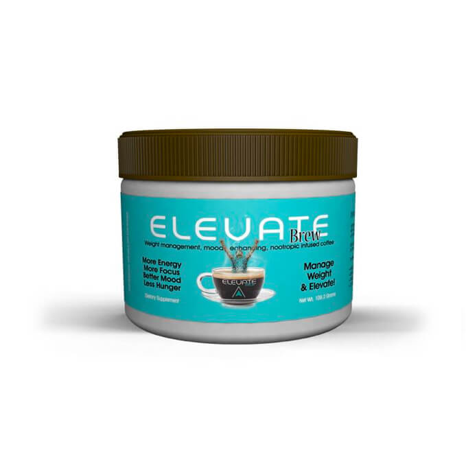 Elevate Brew 1 Instant Smart Coffee Infused With Nootropics