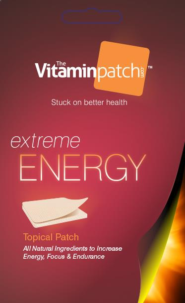 extreme energy vitamin patches