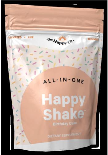 Happy Shake - Birthday Cake - All in one weight loss shake